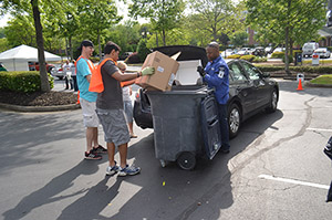 "Recycle clothing, furniture, home medical equipment and other hard-to-dispose-of large items at Johns Creek's ""Bulky Items Recycling Day"""
