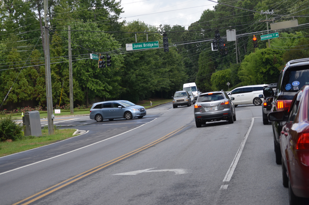 Jones Bridge Road widening project public meeting set for Jan. 19