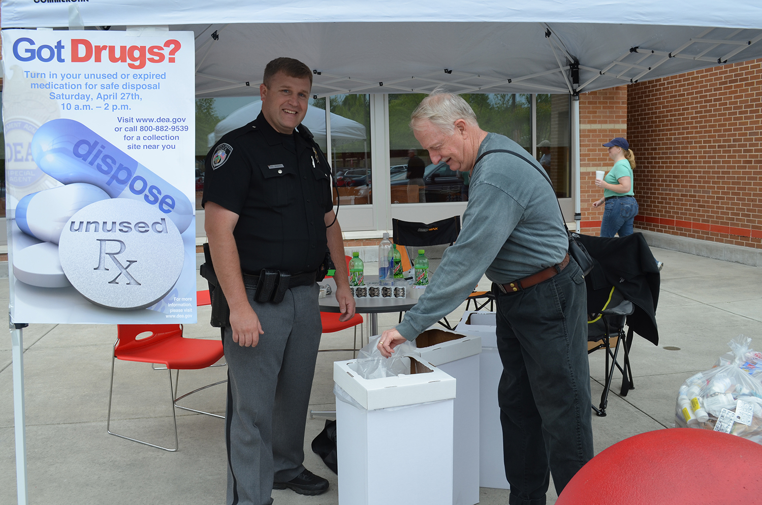 Dispose of prescription drugs at JCPD's 'Drug Take-Back Day' April 27