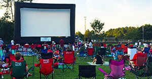 Movies at Newtown Park is back on June 10