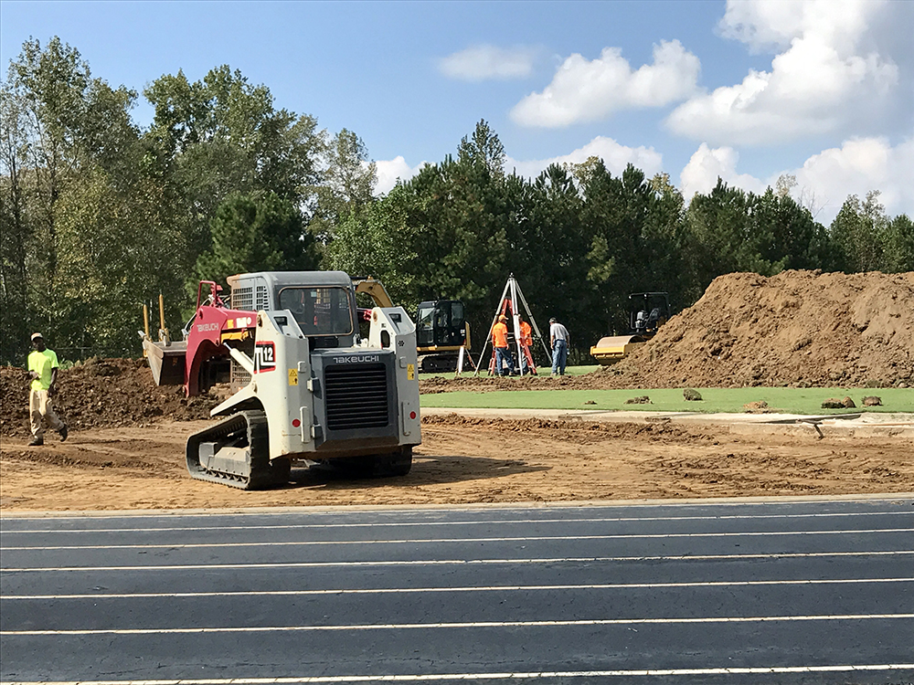New turf field coming to Shakerag Park