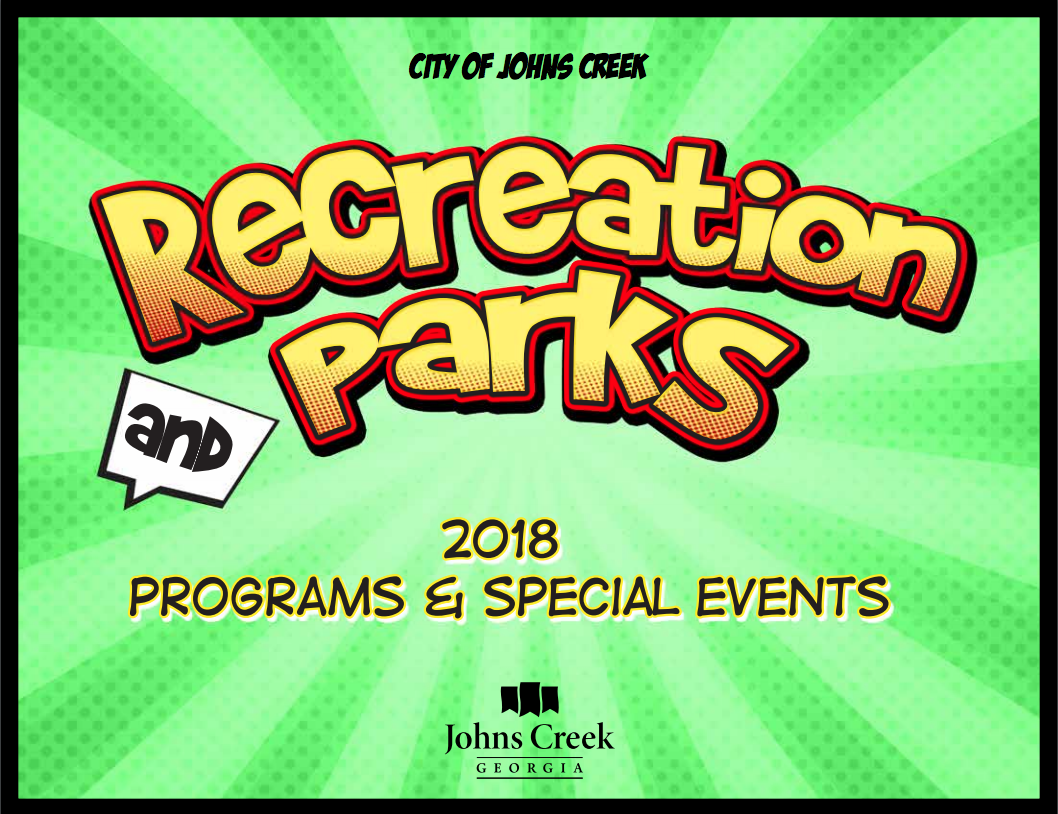 Johns Creek debuts 2018 Recreation and Parks brochure