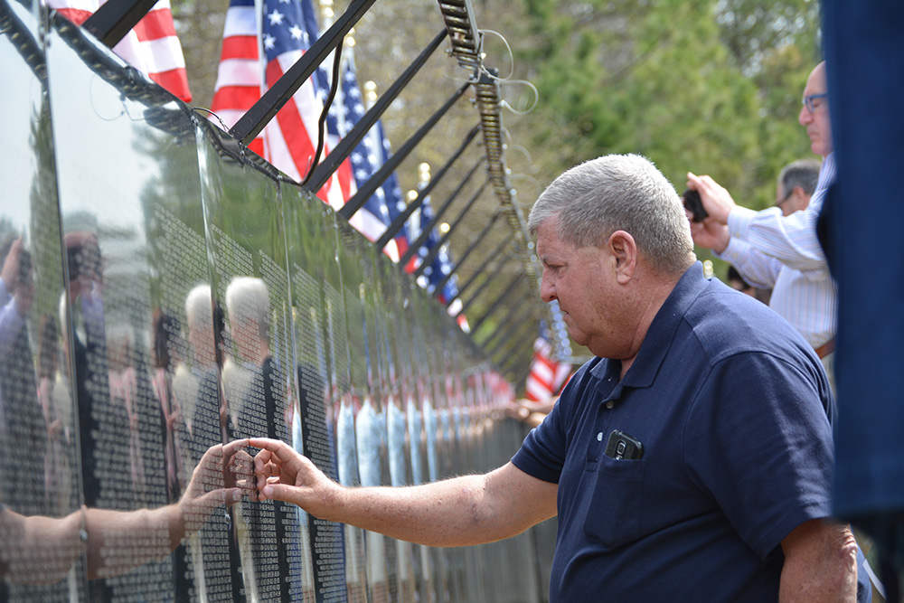 "City Awarded Recently Retired Vietnam Veterans Memorial Replica, ""The Wall that Heals"""