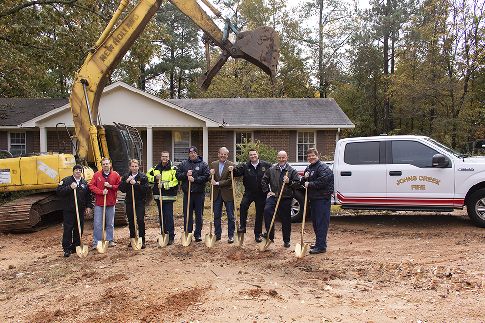 City holds groundbreaking for new fire station