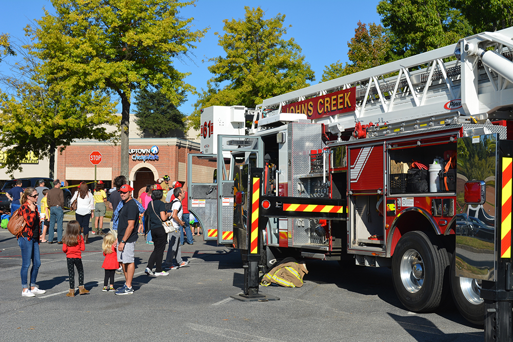 Johns Creek fire, police host Community Safety Day Oct. 14