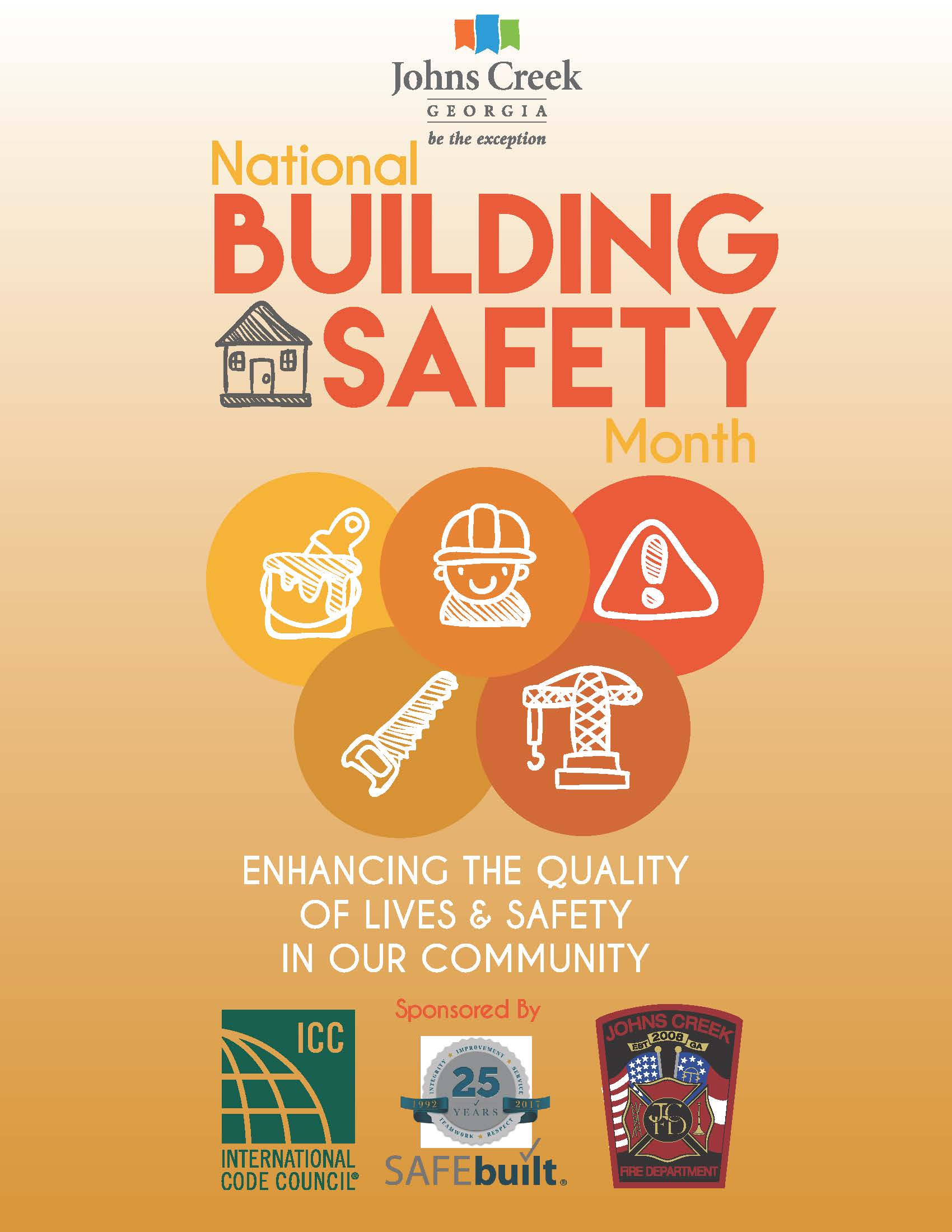 Johns Creek to participate in Building Safety Month event May 6