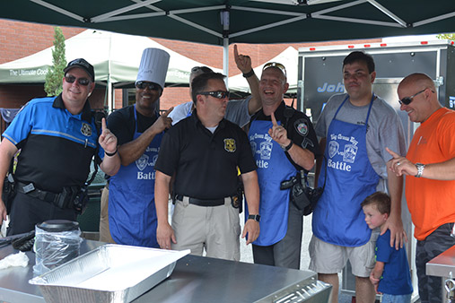 Johns Creek Police and Fire battle for cook-off bragging rights