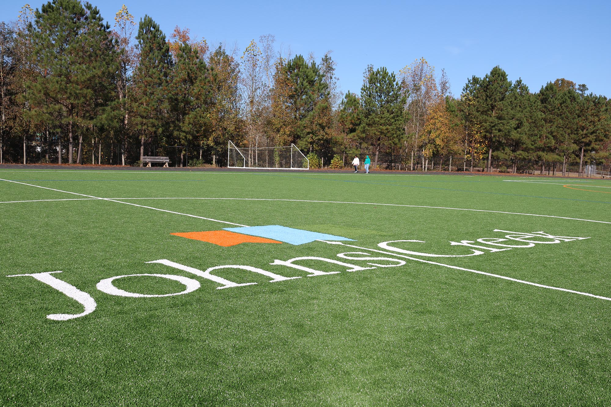Shakerag Park's synthetic turf field opens for play