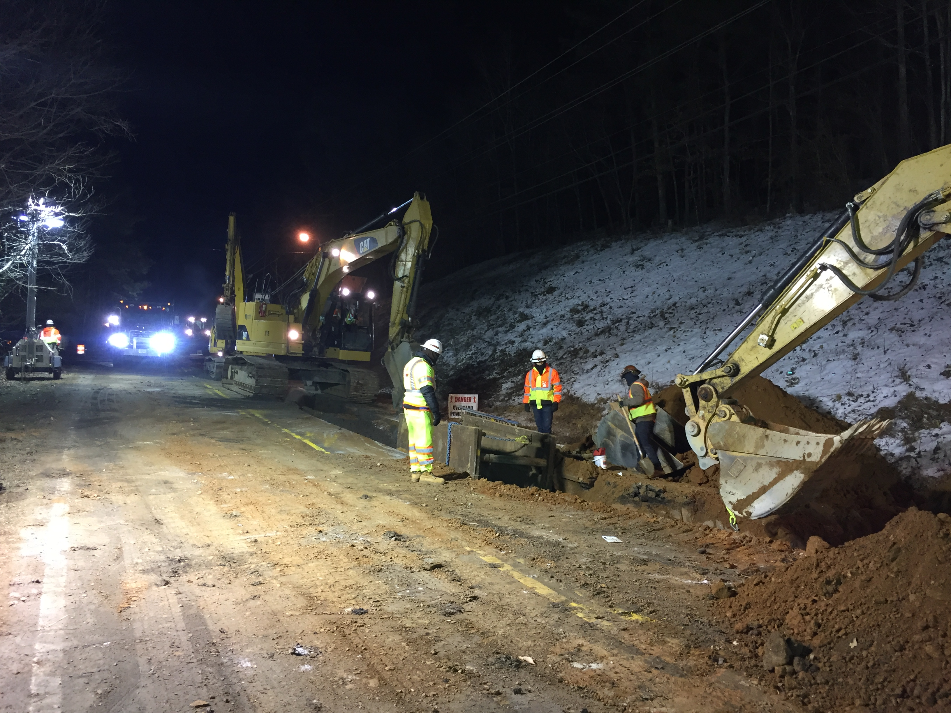 Night work concludes on Barnwell Road; lane closures expected during daytime hours