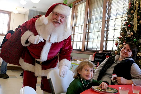 Lunch with Santa registration opens Nov. 1