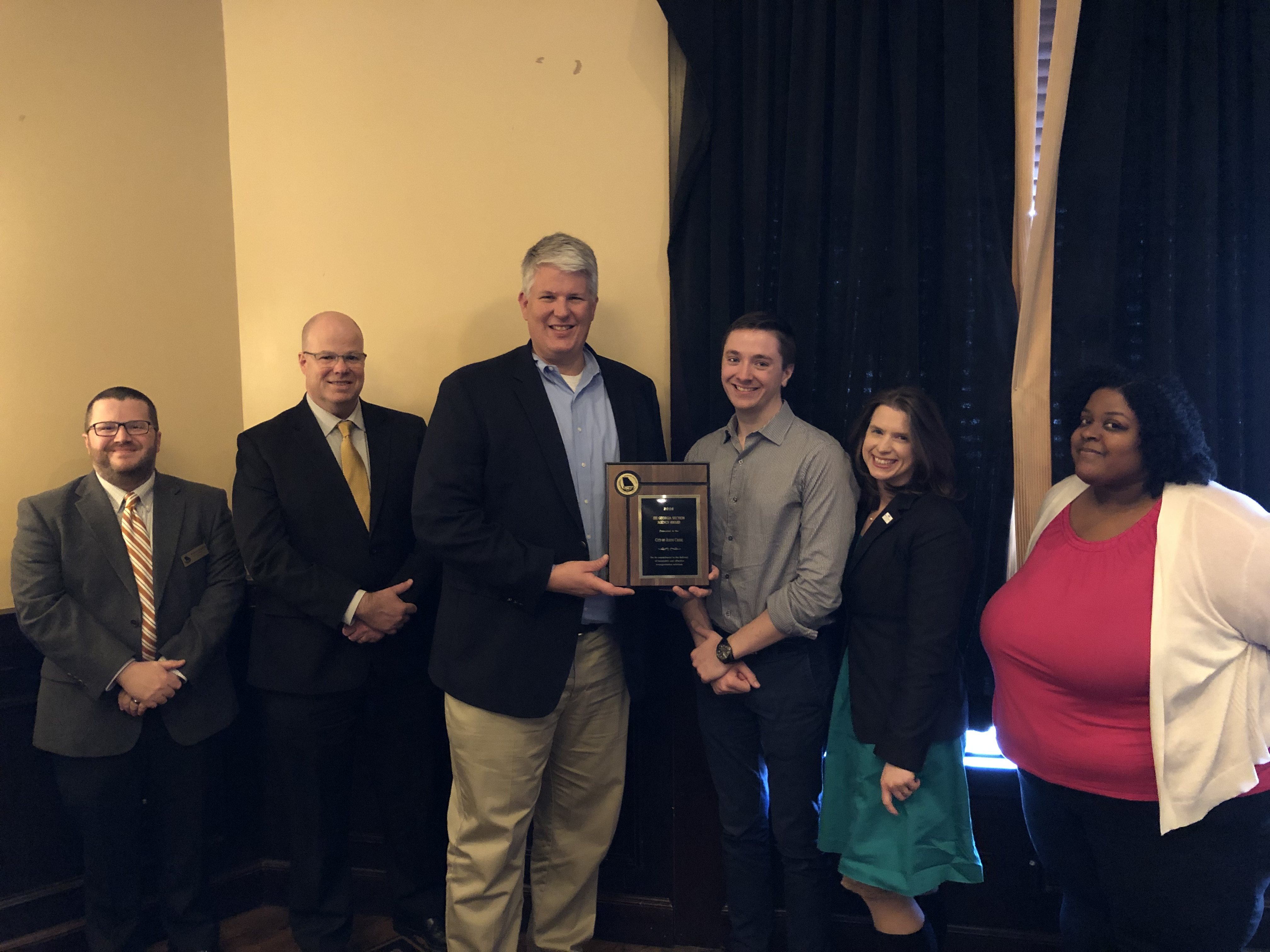 Johns Creek Public Works Department named Agency of the Year