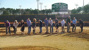 Ocee Park Turf Infields Groundbreaking