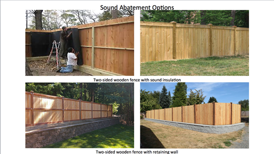 Sound Abatement Options