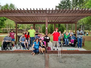Special Needs Bocce Ball